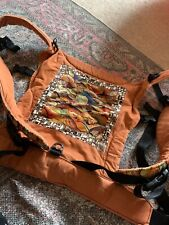 Buckles Carrier Orange Mama By Design Baby Carrier Very Comfortable
