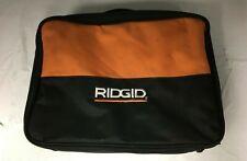 RIDGID Tool Bag 14 In. X 10 In. X 4 In. 1 Handle & Zipper Heavy Duty V016