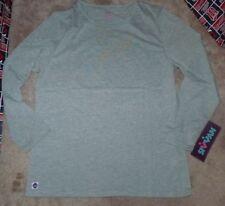 NEW SIVVAN Women Ladies L/S Long Sleeve T Shirt Grey Gray 2XL XXL NEW NWT