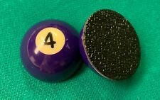 """Pocket Marker (4 Ball) - Small half ball (1.5"""")  with rubber base"""