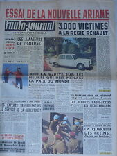 L'AUTO JOURNAL 1960 258 SIMCA ARIANE RAMSES II ESTAFETTE AUTOBLEU LANCIA FLAVIA