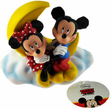 Disney Mickey And Minnie Mouse On Moon 19 cm Money Box