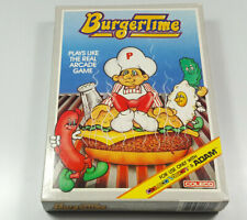 Burger Time 1984 CBS ColecoVision NTSC CIB Boxed NOS NEW Vintage Game Collector