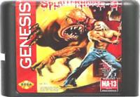 Splatterhouse 3 (1993) 16 Bit Game Card For Sega Genesis / Mega Drive System