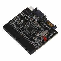 Bidirektionale SATA Serial ATA zu IDE Konverter Adapter Rot & S3Z1