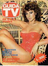 rivista  NUOVA GUIDA TV ANNO 1980 NUMERO 42 CARMEN RUSSO