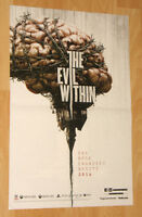 The Evil Within / Wolfenstein small Poster 45x30cm playstation 3 4 Xbox One 360