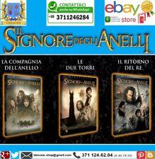 Trilogia Completa Dvd Film Signore degli Anelli Tolkien Fantasy Warner Medusa -
