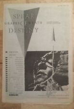 Spear of Destiny grapes  tour 1983 press advert Full page 39 x 28 cm mini poster
