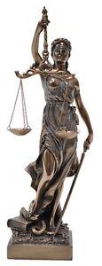 La Justicia Statue Lady of Justice Statue Figurine 31cm(H) Justice statue
