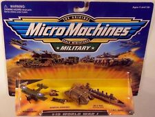 Military Micro Machines 1999 #19 WORLD WAR I WWI SMS EMDEN,MK IV MALE, SE5A MOC