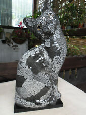 Mosaic CAT Table Lamp (charcoal/grey)