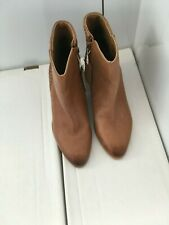 Monsoon Ladies Tan Leather Boots. Size 4. New. RRP £69
