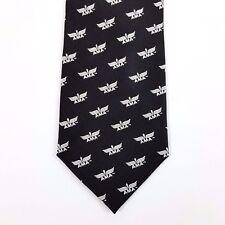 AMA Academy of Model Aeronautics Aviation Logo Silk Tie Necktie Mens Black Sci