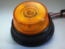 Super-Bright Amber LED Sealed Side-Marker Light (Multi-Voltage 10-30v)