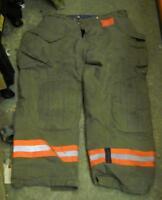 Morning Pride Firemans Turnout  Bunker Pants Gear 40/32 Globe Fire Dex Securitex