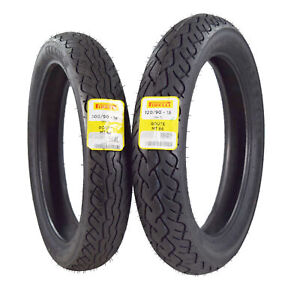 Pirelli MT 66 Route 80/90-21 130/90-16 Front & Rear Cruiser Motorcycle Tire Set
