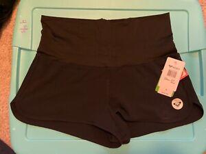 "Roxy women's endless summer 2"" board shorts black size small"