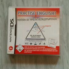 Nintendo DS - Practise English - Meistern Sie typische Alltagssituationen lernen