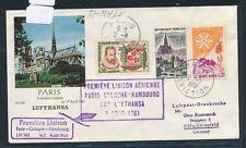 13702) LH FFParis - Köln 1.8.61, SoU Best.-St. violett