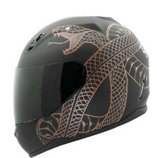 LIMITED 1/8 CUSTOM PAINTED LIMITED SPEED AND STRENGTH MOTORCYCLE HELMET