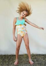 NWT Girls Matilda Jane Dream Chasers Rainbow Groove Swimsuit Size 12 NEW