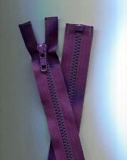 29 inch  Purple Grape #5 Vislon Separating YKK Zipper New!