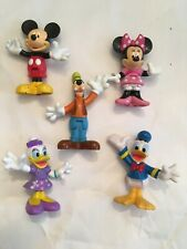Mickey Mouse Clubhouse Figure Lot Minnie Goofy Donald Daisy Well Loved