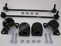 BMW X5 FRONT LEFT AND RIGHT ANTI ROLL BAR STABILISER LINK AND BUSHES 31356750703