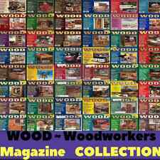 WOOD MAGAZINE - 202 Issues - Home Woodworker Vintage Woodworking PDF - DVD-ROM's
