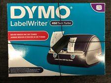 New Dymo Labelwriter 450 Twin Turbo Label Thermal Printer