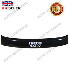 Sun Visor Solid Black Acrylic 2002-2018 FOR IVECO Daily WITH VINYL DECAL