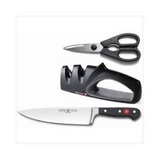 Wusthof Classic Three Piece Kitchen Knives Set (8812-1), New in gift box RRP$390