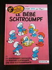 bande dessinée BD : les schtroumpfs 12 - le bébé schtroumpf