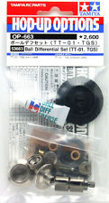 Tamiya 53663 RC TT01 Ball Differential Diff Set For TT01E/DF02/TT02 Hop Up Parts