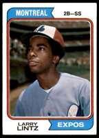 1974 Topps Larry Lintz Montreal Expos #121