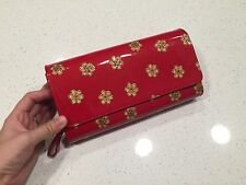 Clutch with Shoulder Strap - Red - Asile