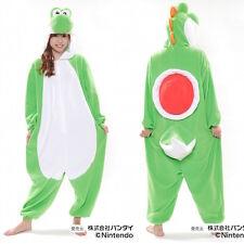 JAPANESE authentic nintendo YOSHI kigurumi onesy costume fleece fabric uni-sex
