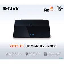 D-LINK WIRELESS ROUTER N300 4-PORT GIGABIT HD FUEL AMPLIFI HD MEDIA ROUTER 1000