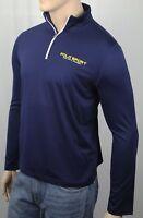 Polo Sport Ralph Lauren Navy Blue Thermovent 1/2 Zip Shirt Top NWT