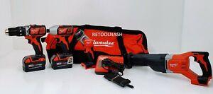 Milwaukee 2696-24 M18 4-Tool Combo Tool Kit