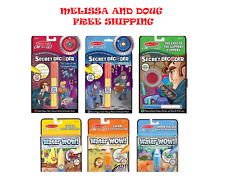 Melissa & Doug On the Go Water Wow! & 3 Secret Decoder Pads,6-pk (Free Shipping)