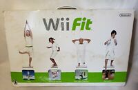 Wii Fit Balance Board Bundle NEW Opened Box Never Used (damaged box)