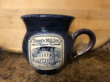 YOUNT'S MILL INN, CRAWFORDSVILLE, INDIANA, DENEEN POTTERY MUG CUP