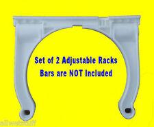 Roll Control Adjustable Scuba Tank Racks dive rack holder SET of 2 white scuba