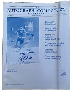 The Autograph Collector's Magazine February 1991 Vol 6 No 2 US Skier Billy Kidd