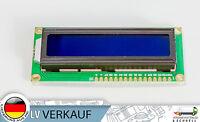 1602 16x2 Zeichen LCD Display Modul HD44780 blaues BL für Arduino Raspberry Pi