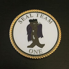US Navy SEAL Team One 1 Challenge Coin