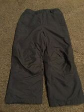 Lands End Snow Ski Pants Navy Blue Youth Boys Girls 6