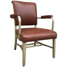 Mid-Century Leather and Aluminium Armchair by GoodForm